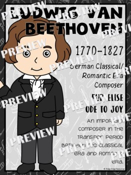 Famous Composers Classroom Display Posters