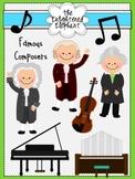 Famous Composers Clip Art