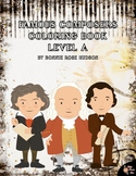 Famous Composers Coloring Book-Level A