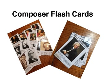 Famous Composers Flash Cards