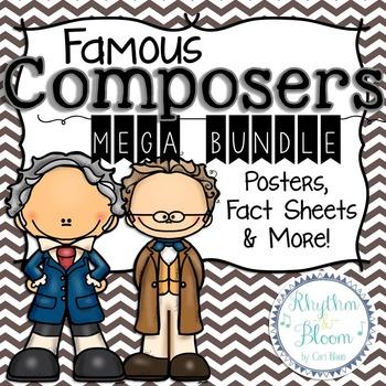 Famous Composers Mega Bundle