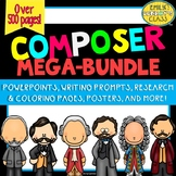 Famous Composers (MEGA-BUNDLE of Music Composer of the Month Activities)