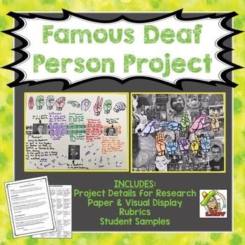 Famous Deaf Person Project