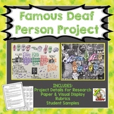 Famous Deaf Person Project