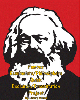 Famous Economists/Philosophers Quick Research/Presentation Project