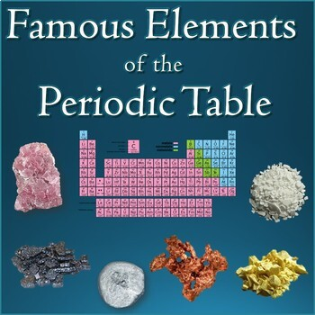 Famous Elements on the Periodic Table PowerPoint Informational Slideshow