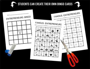 Famous Entrepreneurs Bingo