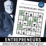 Entrepreneurs Bingo