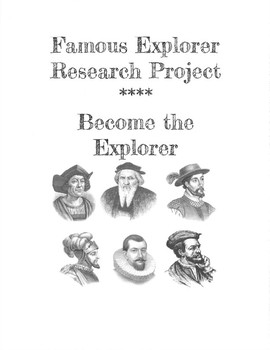 Famous European Explorer Digital Research Project - Become the Explorer