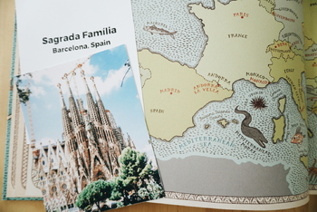 Famous European Landmark Fact Cards
