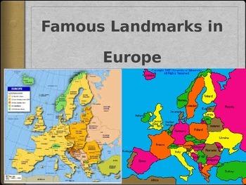 Famous European Landmarks PowerPoint