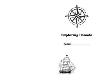 Famous Explorer Graphic Organizer Booklet