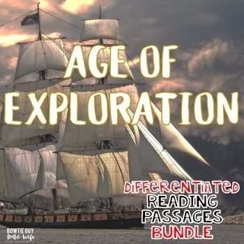 Age of Exploration Differentiated Reading Passages of Famous European Explorers