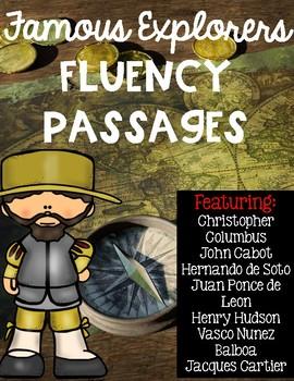 Famous Explorers Fluency Passages