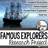 Famous Explorers Guided Research Project