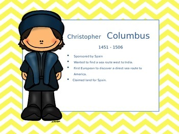 Famous Explorers Mini Poster Set