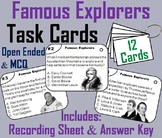 Famous World Explorers Task Cards