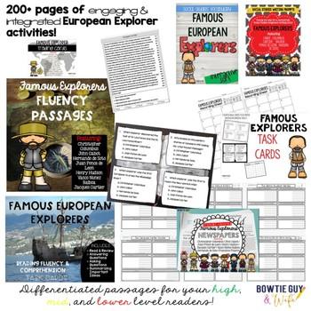 European Exploration Unit Bundle - Informational & Nonfiction Texts & Activities