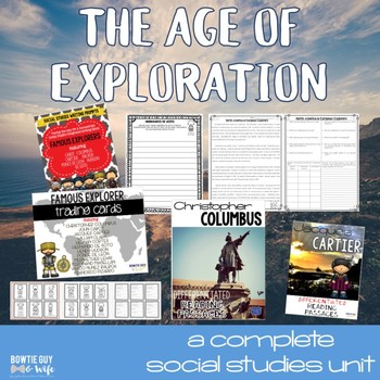 Age of Exploration Unit Bundle for Famous European Explorers