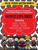 Age of Exploration Writing Prompts for Famous European Explorers