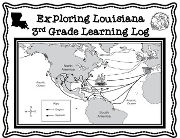 Famous Explorers of Louisiana Learning Log