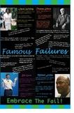 Famous Failures Inspirational Classroom Poster