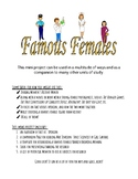 Famous Females/Barrier Breaking Women Project; Women's History Month and more