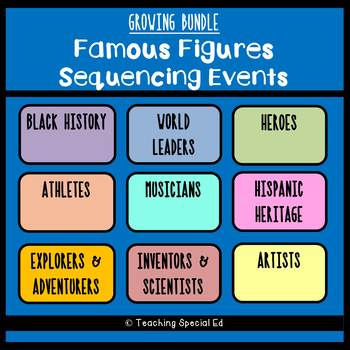 PRESALE - Famous Figures Sequencing Events