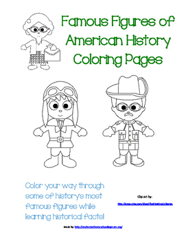 Famous Figures of American History Coloring Pages