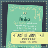 Famous First Lines: Because of Winn Dixie