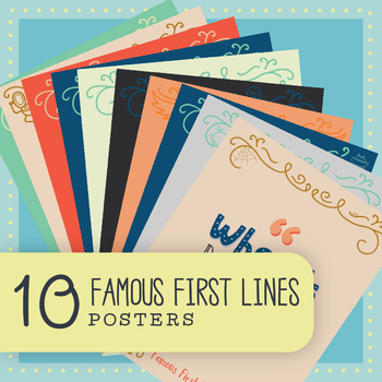 Famous First Lines: Bundle of 10