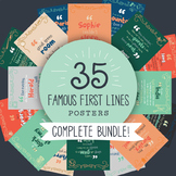 Famous First Lines: Bundle of 35