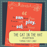 Famous First Lines: Dr. Seuss's The Cat in the Hat