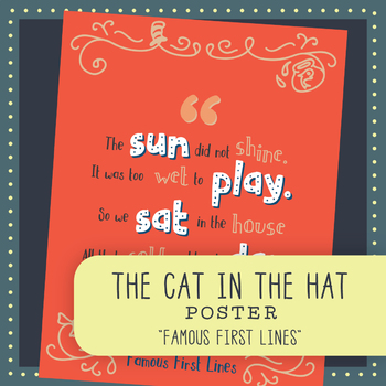 Famous First Lines: The Cat in the Hat