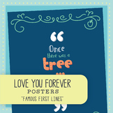 Famous First Lines: The Giving Tree