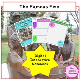 Famous Five Digital Interactive Notebook for Google Drive