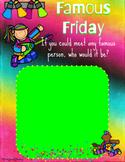 Famous Friday Google Classroom Activity