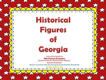 Famous Georgian Historical Figures King Robinson Carter Interactive Review Books