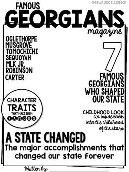 Famous Georgians Magazine