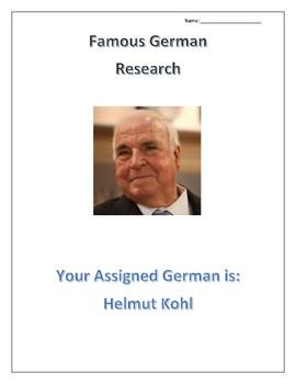 (FAMOUS GERMANS) Helmut Kohl: Rulers and Politicians
