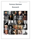 (FAMOUS GERMANS) Famous Germans Research Guides Set