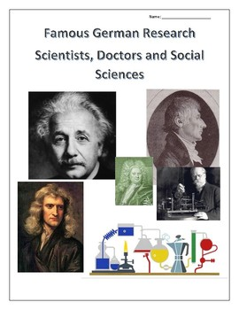 Famous Germans: Scientists, Doctors and Social Sciences - distance learning