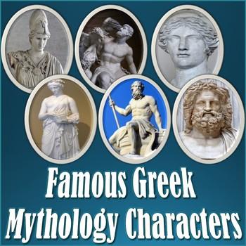 Famous Greek Mythology Characters PowerPoint Slideshow