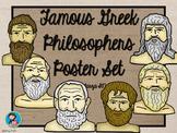 Famous Greek Philosophers Poster Set