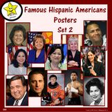 Famous Hispanic American Posters, Set 2
