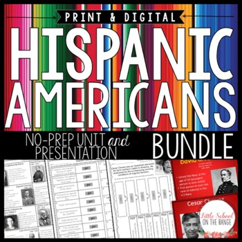 Hispanic Heritage Month BUNDLE - Famous Hispanic Americans