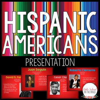 Famous Hispanic Americans Presentation