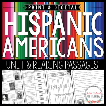 Hispanic Americans Unit * Hispanic Heritage Month