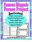 Famous Hispanic Person Project / Hispanohablante Presentación Oral