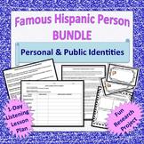Famous Hispanic Person Project & Lesson BUNDLE